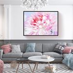 Pink Floral Canvas