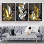 Luxury Feather Canvas Set