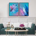 Modern Minimalist Renkli Kanvas Set