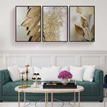 Gold Tropical Canvas Set