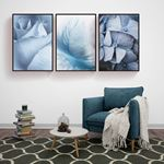 Light Blue Canvas Set