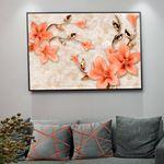 Modern Floral's Canvas