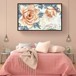 Modern Large Floral's Canvas