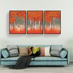 Red Tree's Canvas Set