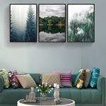 Doğal Manzara Kanvas Set
