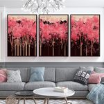 Sweet Pink Tree's Canvas Set