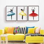 Sweet Ballerina Canvas Set