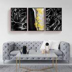 Black&Gold Decor Canvas Set