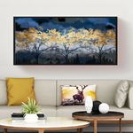 Forest At Night Canvas