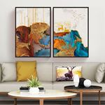 Luxury Geometric Canvas Set