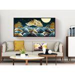 Luxurious abstract art Canvas