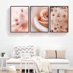 Sweet Floral Canvas Set